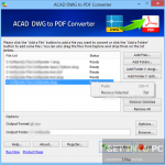 AutoDWG PDF to DWG Converter Free Download