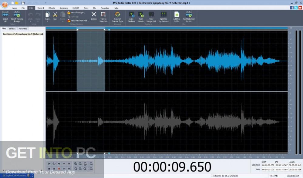 AVS Audio Editor Direct Link Download-GetintoPC.com