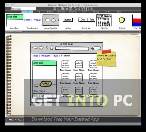 Download Balsamiq Mockups for windows