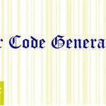 Bar Code Generator Free Download