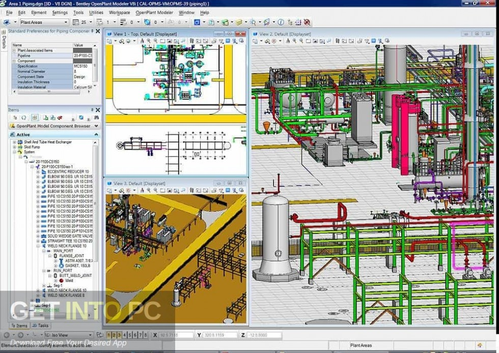 Bentley AutoPLANT Plant Design Latest Version Download-GetintoPC.com