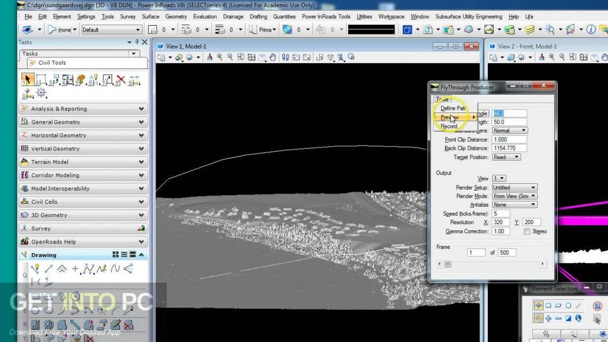 Bentley Power InRoads Offline Installer Download-GetintoPC.com