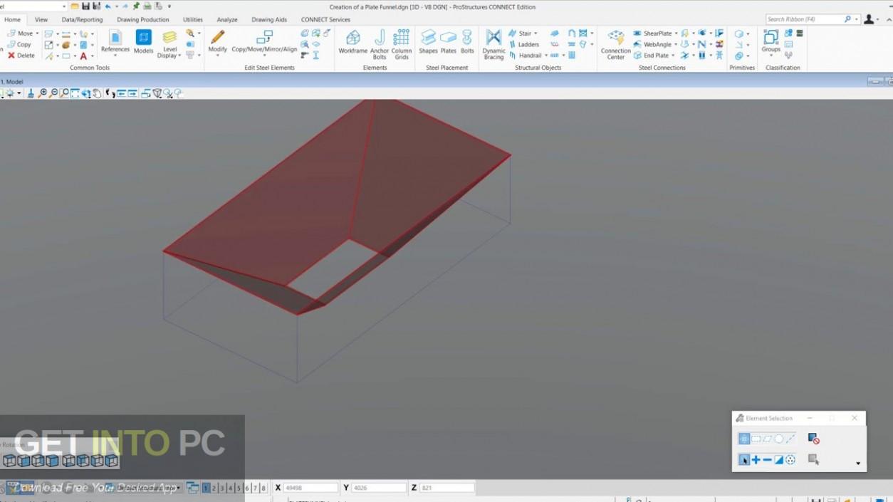 Bentley ProStructures CONNECT Edition Offline Installer Download-GetintoPC.com