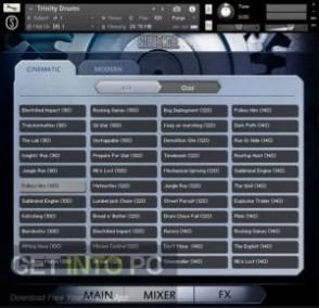 Best Service Trinity Drums (KONTAKT) Offline Installer Download-GetintoPC.com