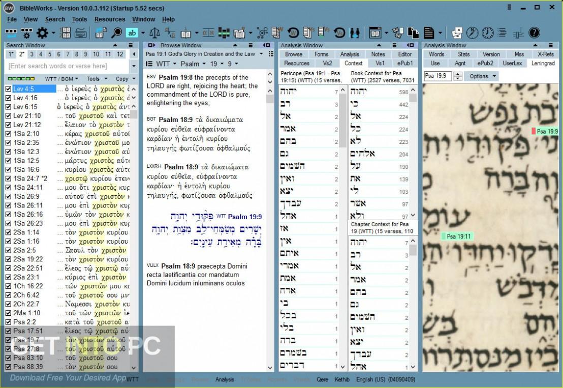 Bibleworks 8 Latest Version Download-GetintoPC.com