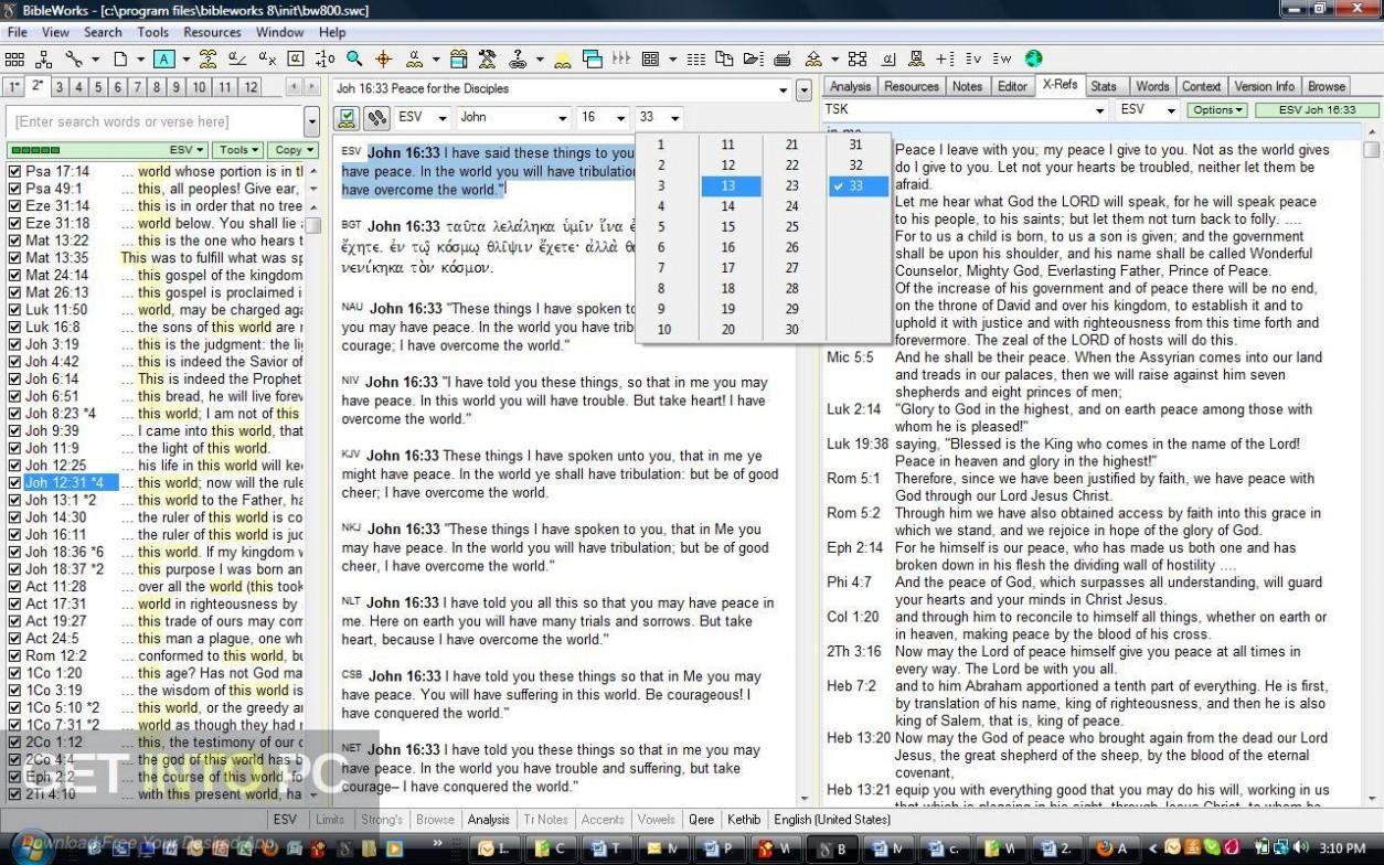 Bibleworks 8 Offline Installer Download-GetintoPC.com