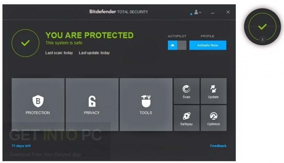 Bitdefender Total Security 2017 Offline Installer Download