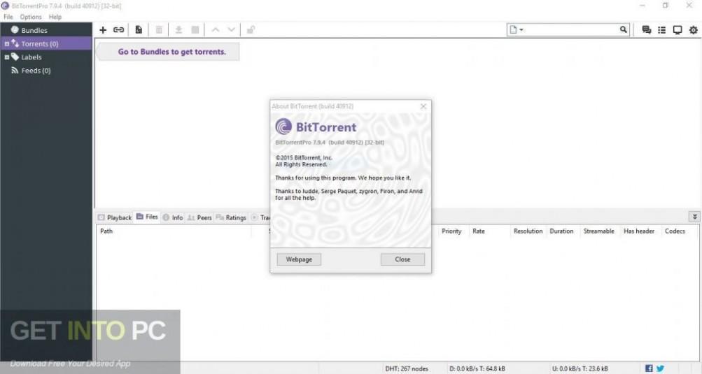 BitTorrent Pro 7.10.4 Latest Version Download-GetintoPC.com