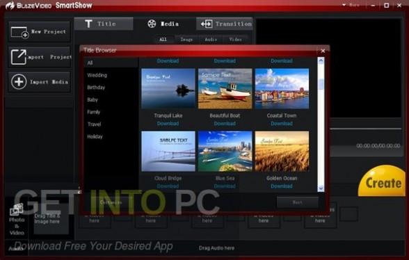 BlazeVideo SmartShow Direct Link Download-GetintoPC.com