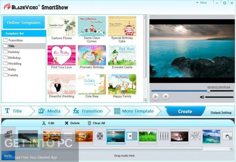 BlazeVideo SmartShow Offline Installer Download-GetintoPC.com
