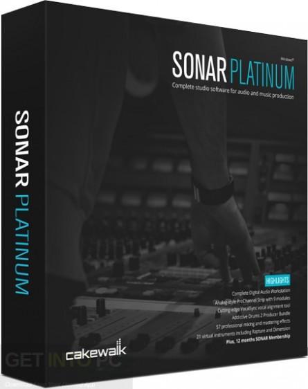 Download Cakewalk SONAR Platinum 23 With Plugins & Content