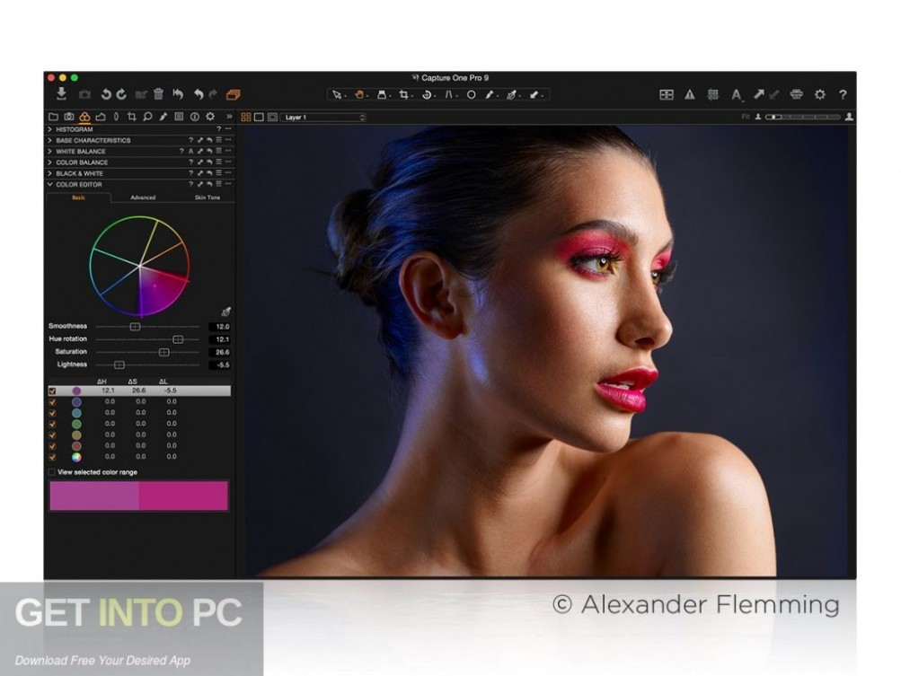 Capture One Pro 12 Offline Installer Download-GetintoPC.com