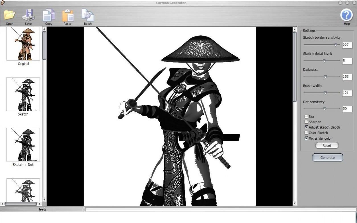 Cartoon Generator software