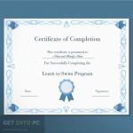 Certificate Diploma Elegant Template Vector Free Download
