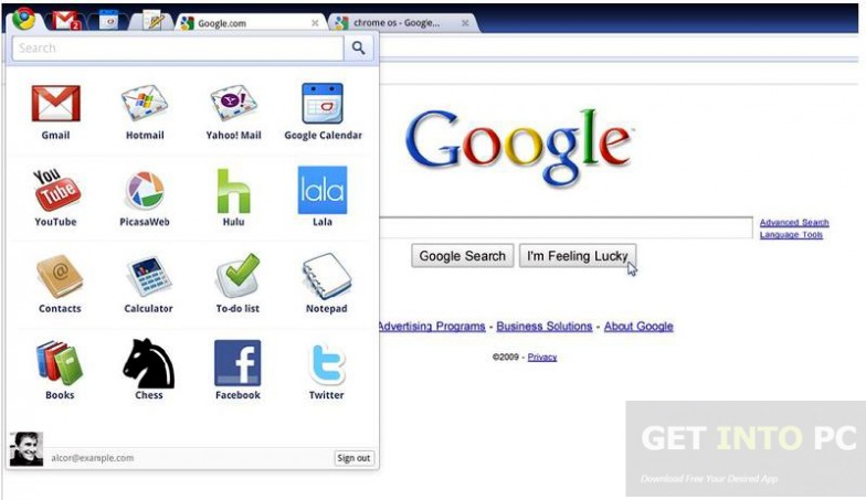 Chrome OS i686 0.9.570 IS Direct Link Download