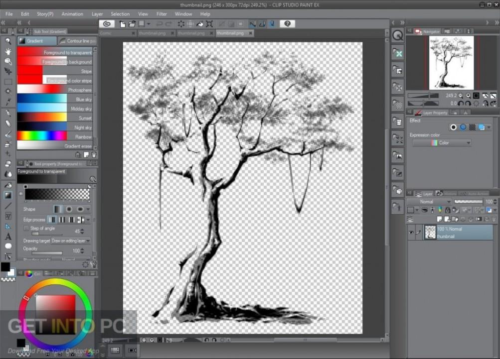 Clip Studio Paint 1.7.8 + Materials Direct Link Download-GetintoPC.com