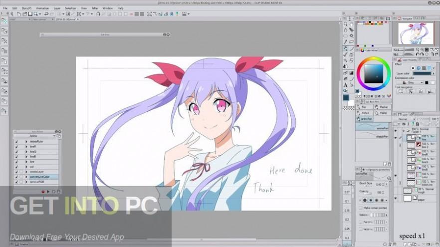 Clip Studio Paint EX 1.8.4 + Materials Offline Installer Download-GetintoPC.com