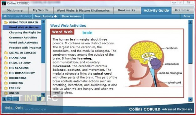 Collins Cobuild Advanced Learners Dictionary 5th Edition Offline Installer Download