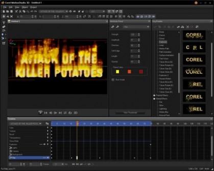 Corel Motion Studio 3D Free Download setup