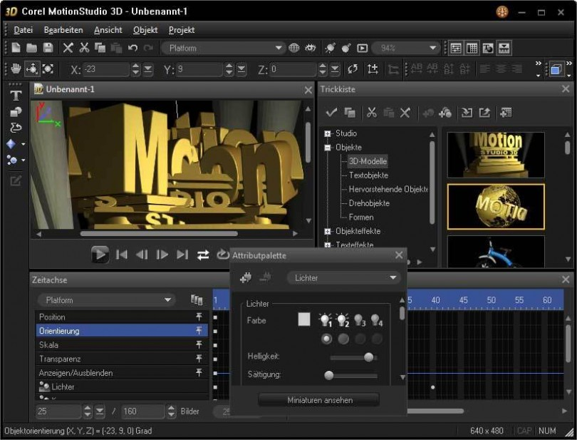 Corel Motion Studio 3D Download Free