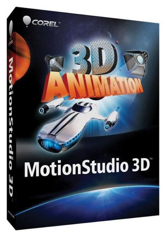 Download Corel Motion Studio 3D setup