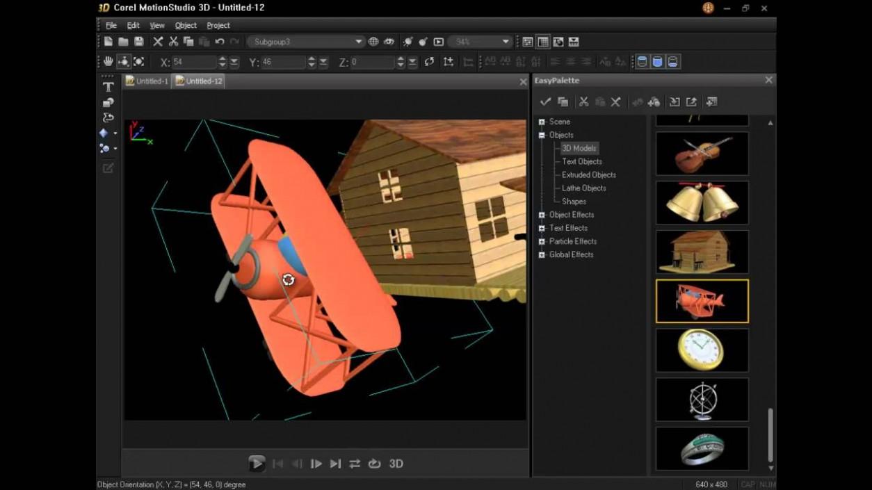 Corel Motion Studio 3D software free download