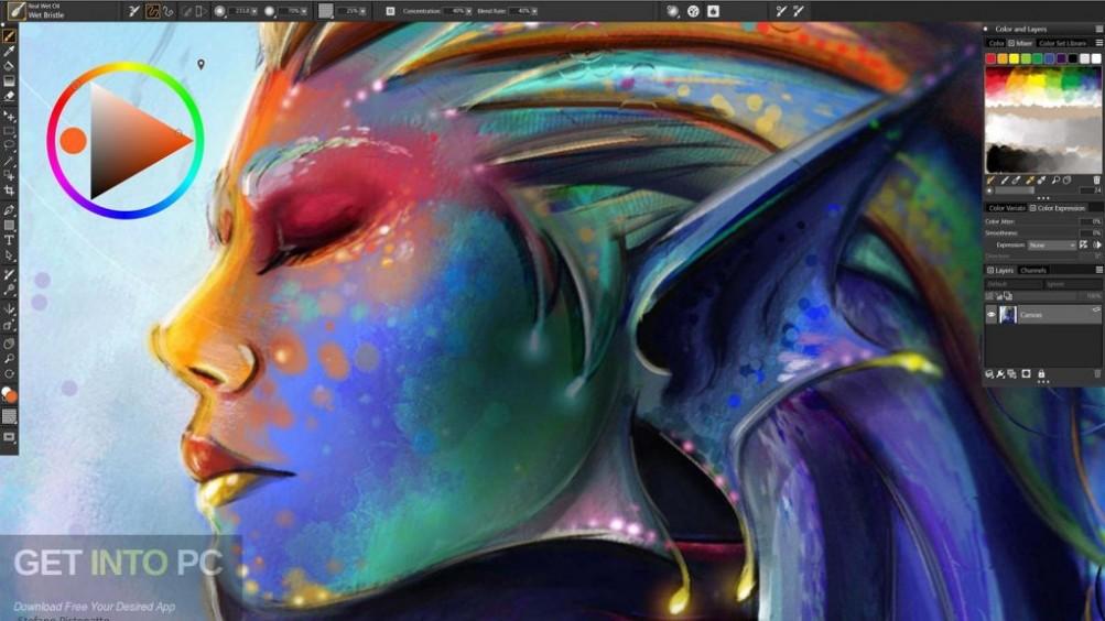 Corel Painter 2019 Direct Link Download-GetintoPC.com