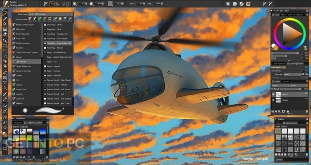 Corel Painter 2019 Latest Version Download-GetintoPC.com