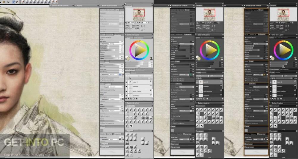 Corel Painter 2019 Offline Installer Download-GetintoPC.com