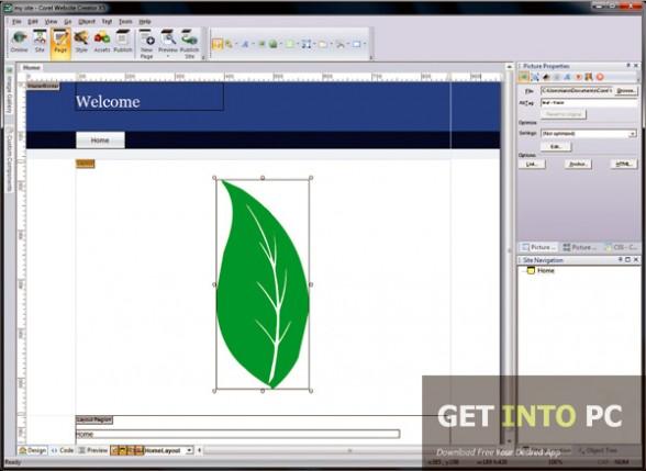 Corel Website Creator Direct Link Download