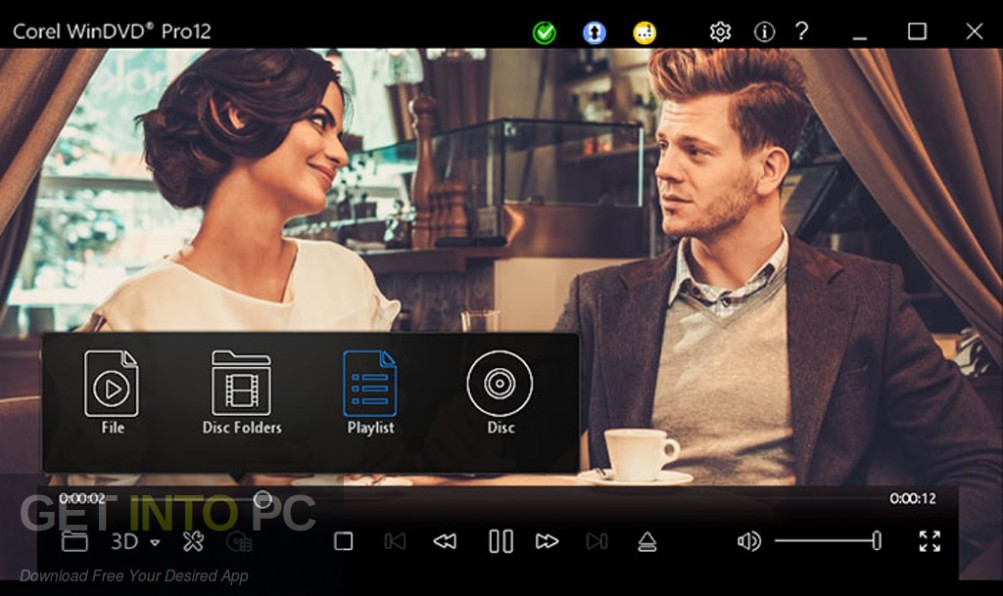 Corel WinDVD Pro 12 Latest Version DOwnload-GetintoPC.com