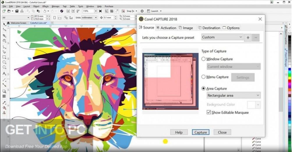 CorelDRAW Graphics Suite 2018 Repack Offline Installer Download-GetintoPC.com