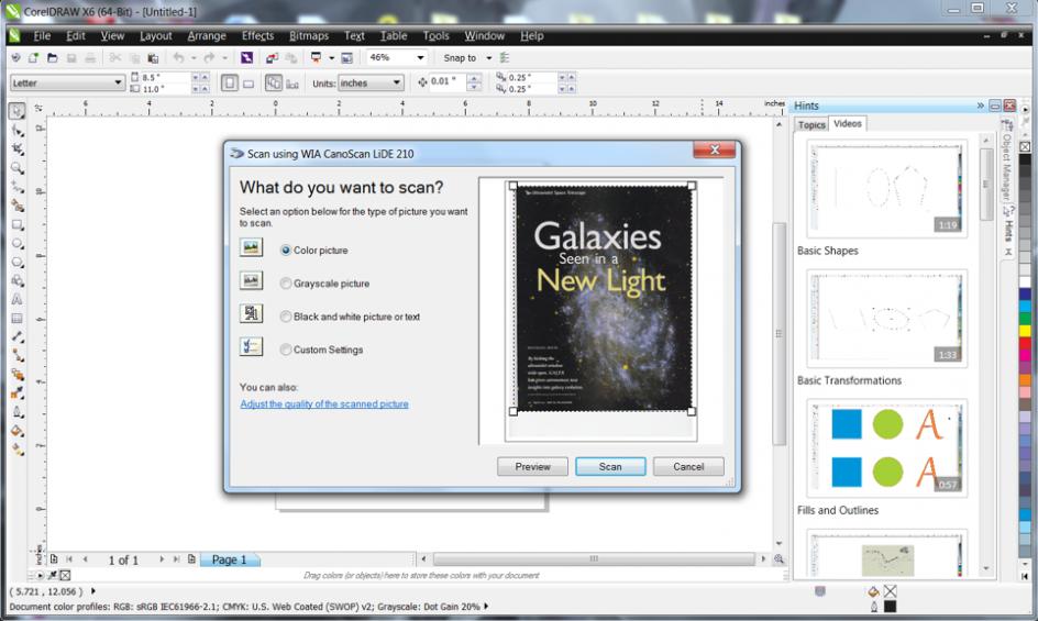 CorelDRAW Graphics Suite X6 Features
