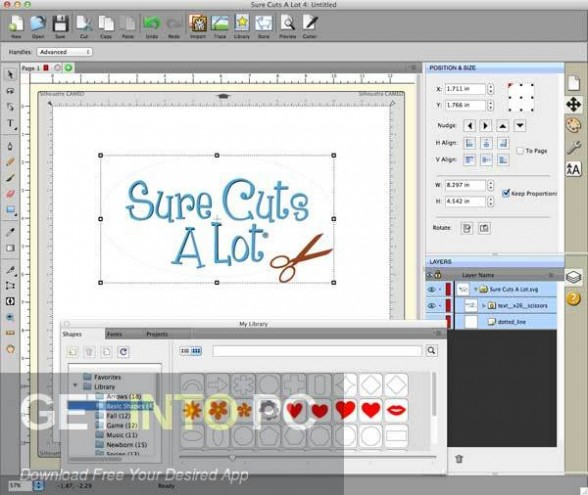Craft Edge Sure Cuts A Lot Pro 4 Offline Installer Download-GetintoPC.com