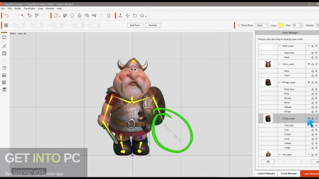 Crazytalk Animator Power Tools and Cartoon Solution Packs Bundle Latest Version Download-GetintoPC.com