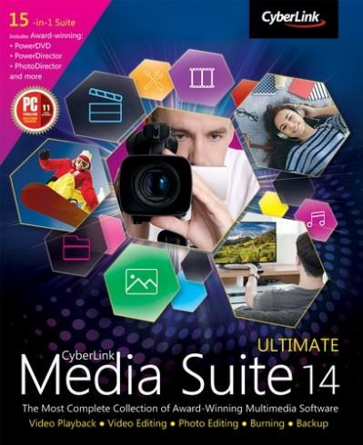 CyberLink Media Suite Ultimate 14.0.0627.0 Multilingual Free Download