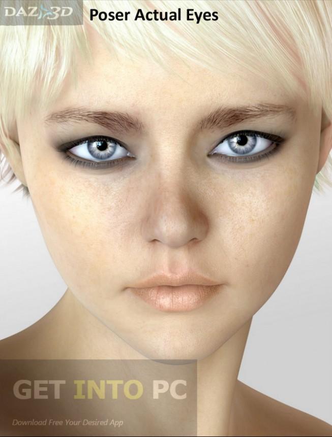 Daz3D Poser Actual Eyes Direct Link Download