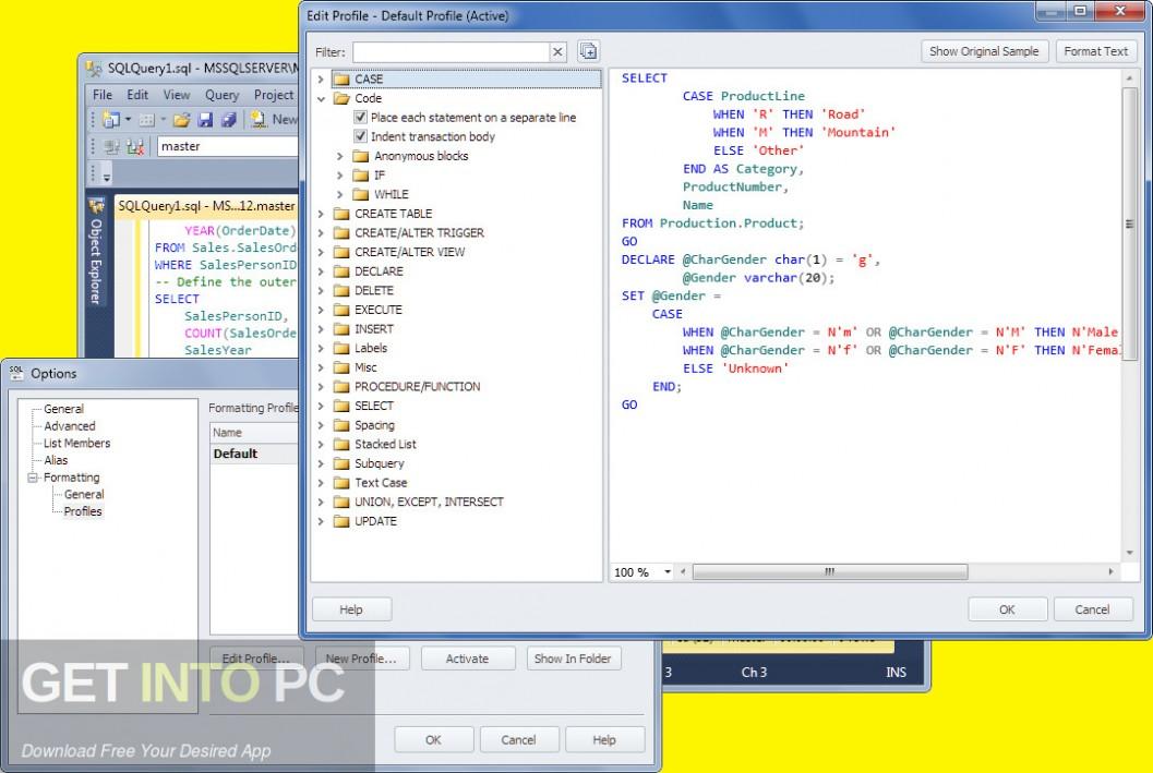 dbForge Studio for SQL Server MySQL Oracle SQL Complete Direct Link Download-GetintoPC.com
