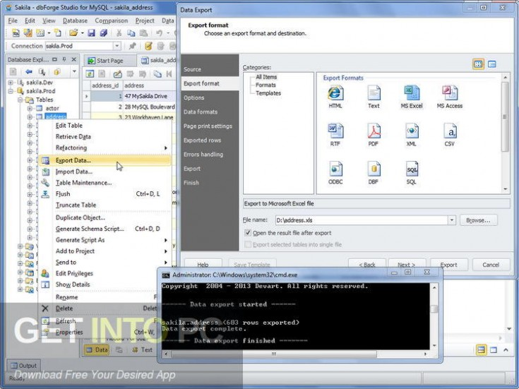 dbForge Studio for SQL Server MySQL Oracle SQL Complete Offline Installer Download-GetintoPC.com