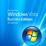 Dell Genuine Windows Vista Business OEM ISO Free Download