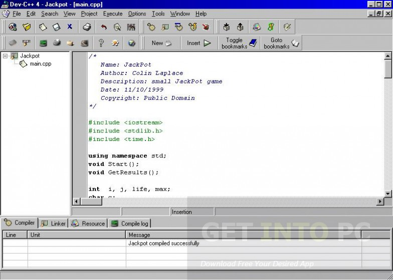 Dev C++ Direct Link Download