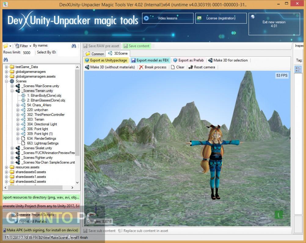 DevXUnity Unpacker Tools Direct Link Download-GetintoPC.com