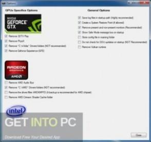 Display Driver Uninstaller 2020 Offline Installer Download-GetintoPC.com