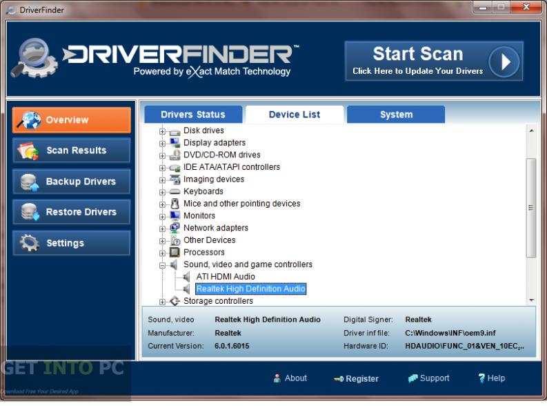 DriverFinder Latest Version Download