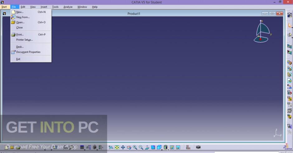 DS CATIA V5R23 CAA RADE Latest Version Download-GetintoPC.com