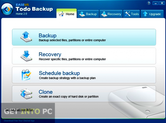 EaseUS Todo Backup Offline Installer Download