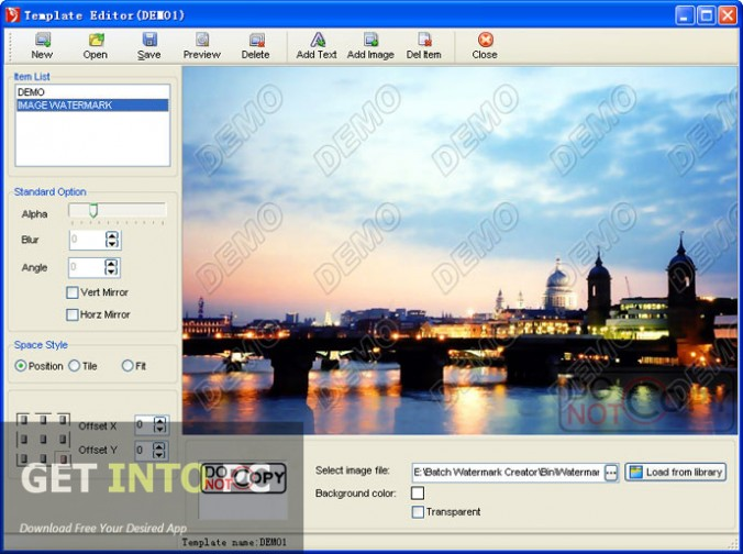 Easy Tools Batch Watermark Creator Direct Link Download