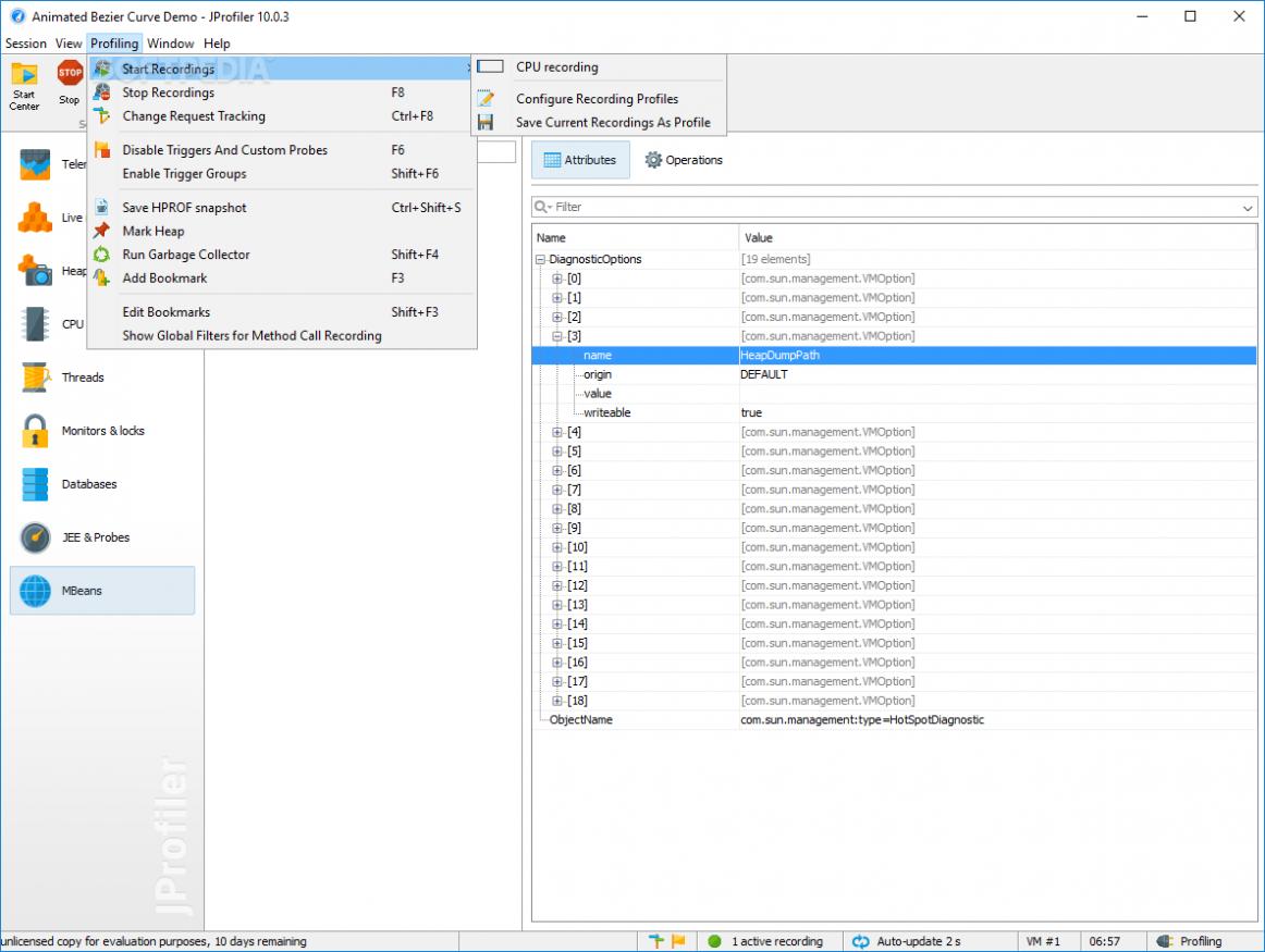 EJ Technologies JProfiler 10.1.2 Latest Version Download