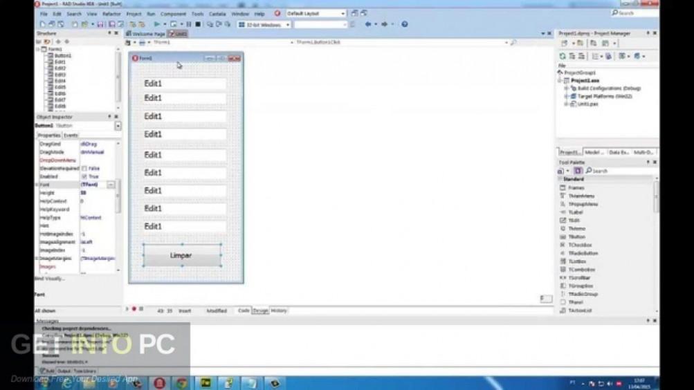 Embarcadero Delphi XE8 Latest Version Download-GetintoPC.com