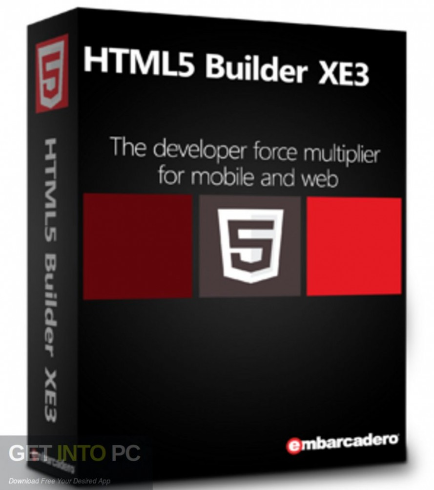 Embarcadero HTML 5 Builder Free Download-GetintoPC.com